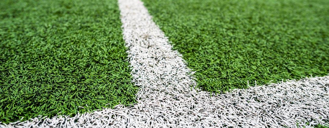 Traçage de terrain de foot